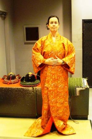 kimono Irishwoman